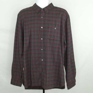 Todd Snyder Mens Oxford Shirt Multicolor Plaid New